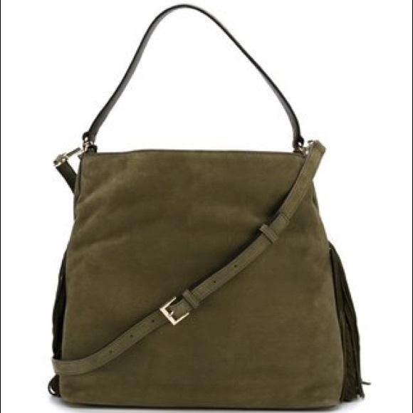 Diane Von Furstenberg Bags   Dvf Voyage Boho Fringe Shoulder Bag ... 4b6c52bc98